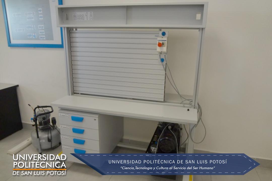 Mesa de pruebas hidráulico