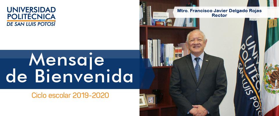 Banner Mensaje de Bienvenida - Rector ingreso 2019-